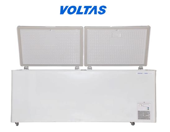 Voltas Deep Freezer 400 Liter Double Door 405 Dd Cf